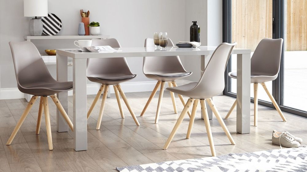 Ida Dining Chair 6 Seater Dining Table Grey Dining Tables Modern Dining Table