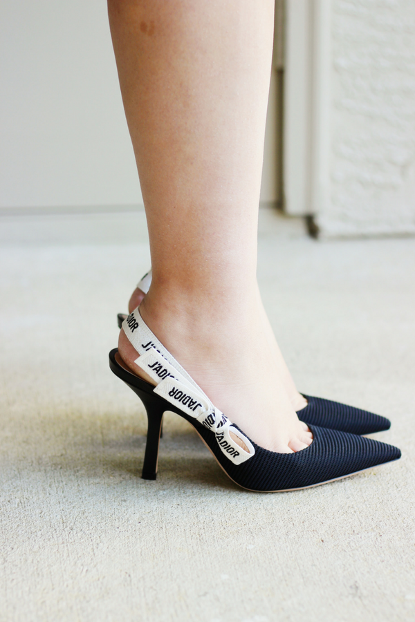 24d13b19a6e Dream Shoes  Dior J Adior Slingback Pumps Review