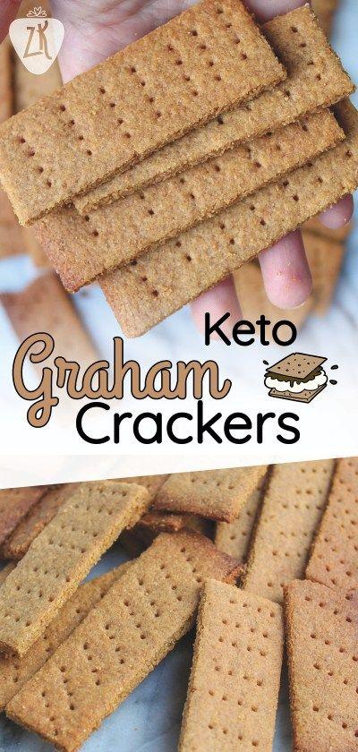 Keto Graham Crackers! – Zenberry Keto #ketosnacks