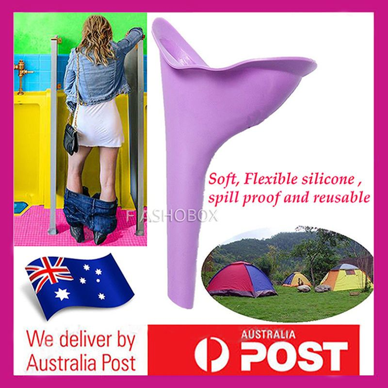 Reusable Portable Camping Female She Urinal Funnel Ladies Woman Urine Travel