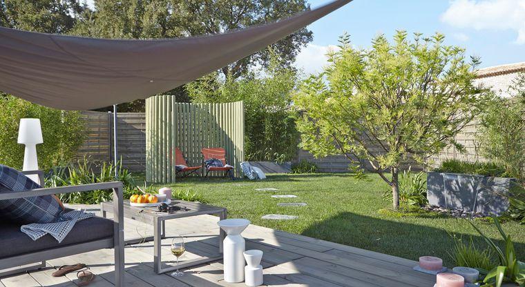 Toile et voile d\'ombrage pour terrasse : comment les ...