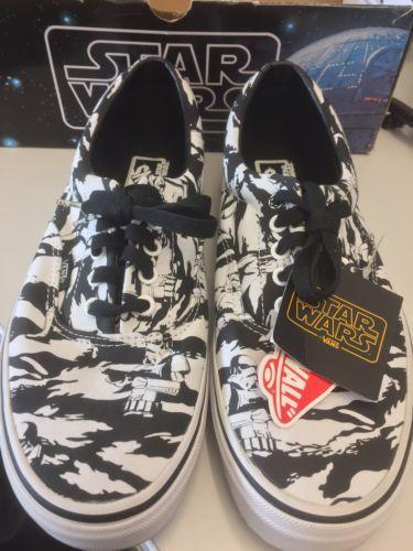 Vans Era Star Wars Dark Side Camo Storm Trooper Men's Size 10 https://t.co/LpUh0fnzzy https://t.co/7UGCKOQP97