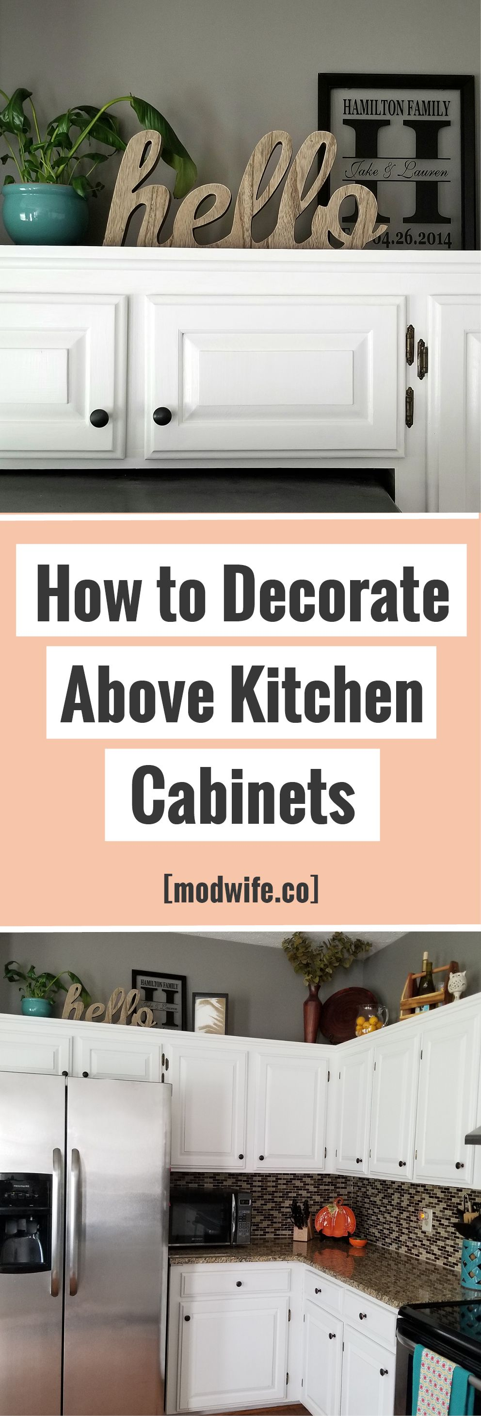 How To Decorate Above Kitchen Cabinets Above Kitchen Cabinets Decorating Above Kitchen Cabinets Kitchen Cabinets Decor