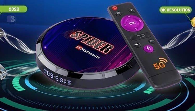 تعرف على رسيفر سبايدر اندرويد Spider Platinum بنظام 8k عربي تك Arabi Smart Watch
