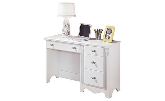 Best Ashley Exquisite Desk Bedroom Desk Furniture White Desks 640 x 480