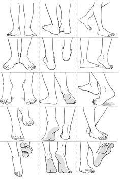 Walking Draw Feet Cerca Con Google Drawing Tips Anatomy Reference Drawing Tutorial