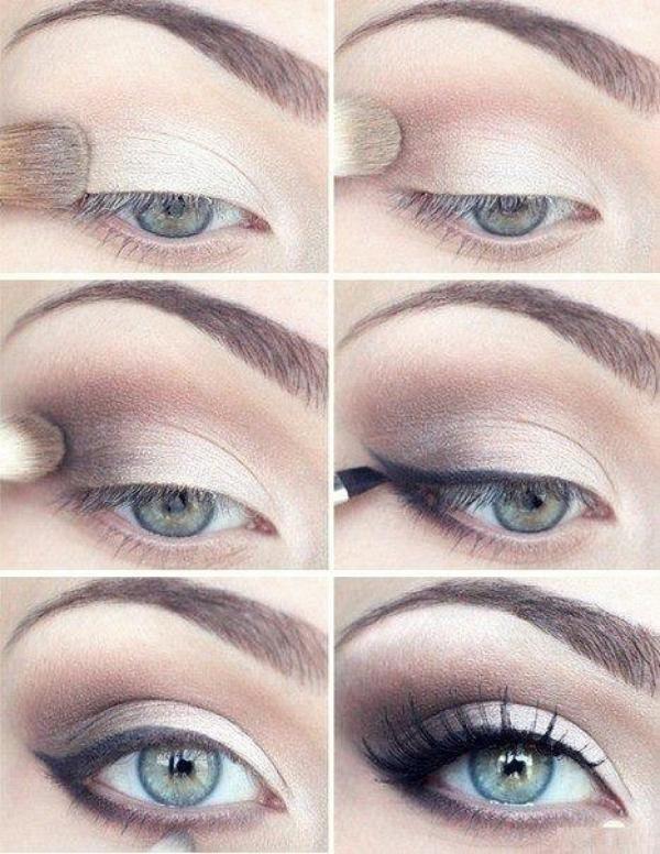 Les 50 Plus Beaux Maquillages Faciles A Faire En 2020 Maquillage Yeux Bleus Gris Maquillage Yeux Bleus Tuto Maquillage