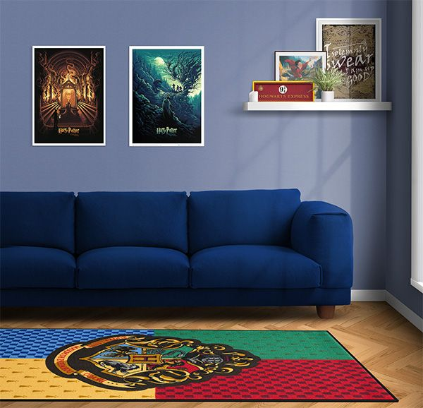 This Hogwarts Rug Really Ties A Room Of Requirement Together