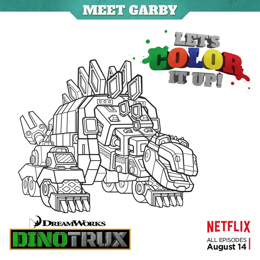 Color it up! Download, print, and color Garby from DreamWorks ...
