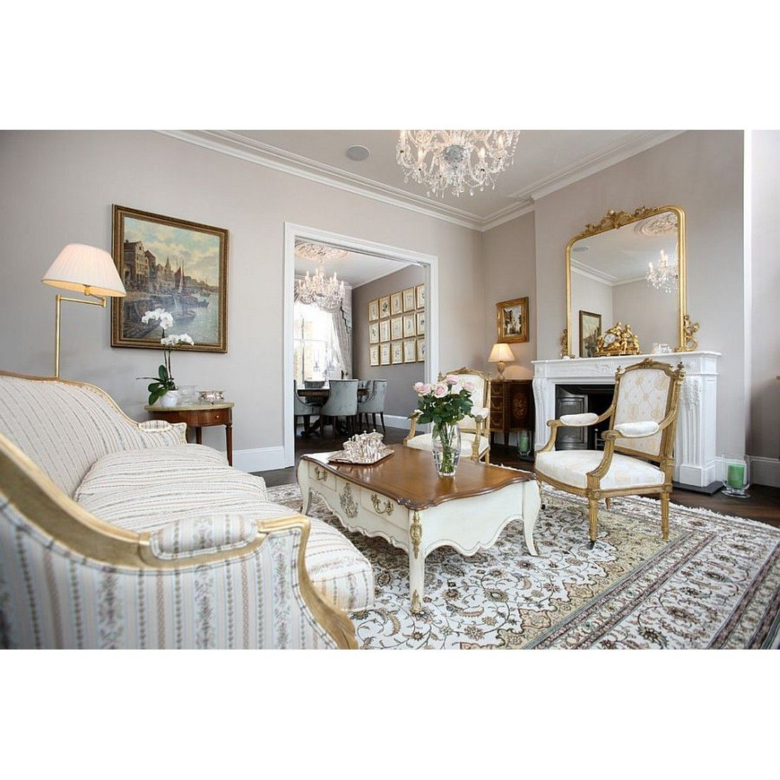 Wishing for classy white interior? Apply Victorian style ...