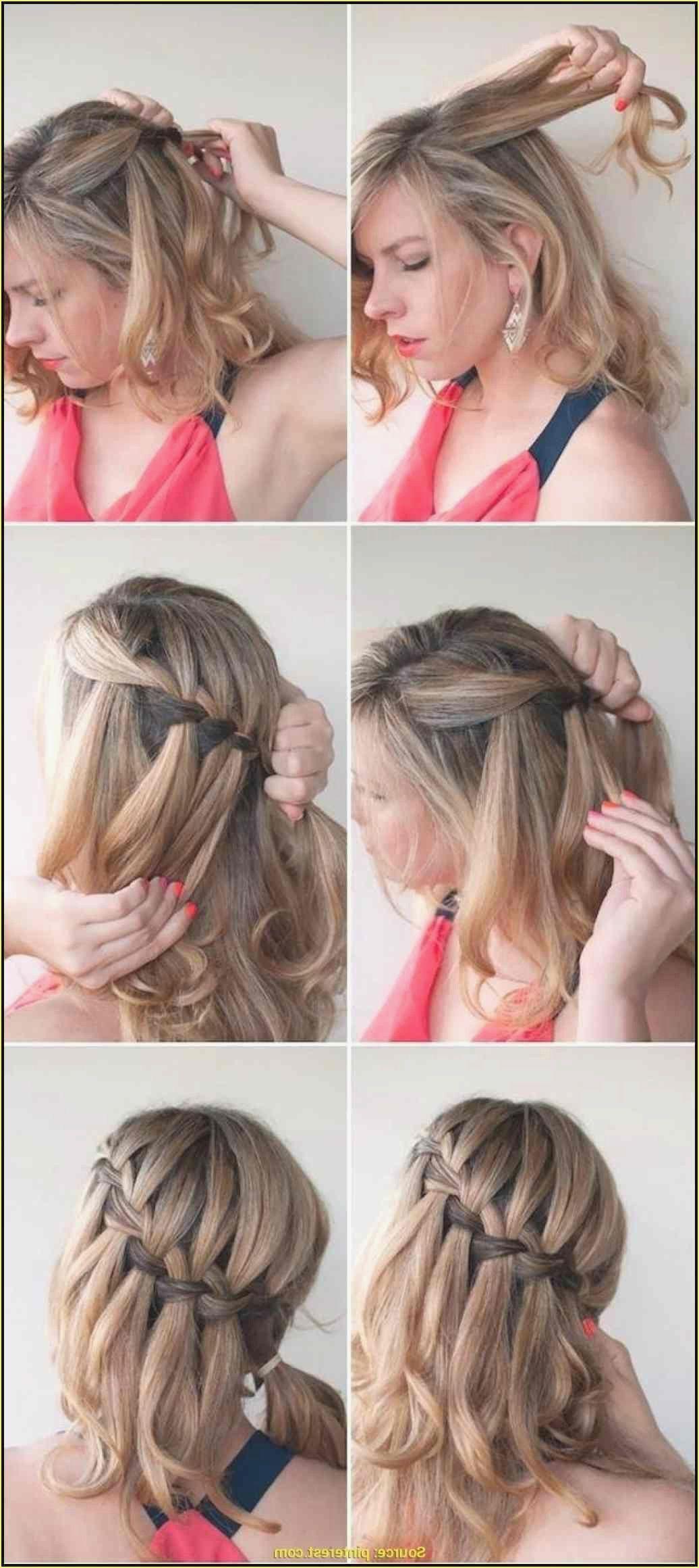 Einfache Frisuren Selbst Machen  Pink short hair, Short hair