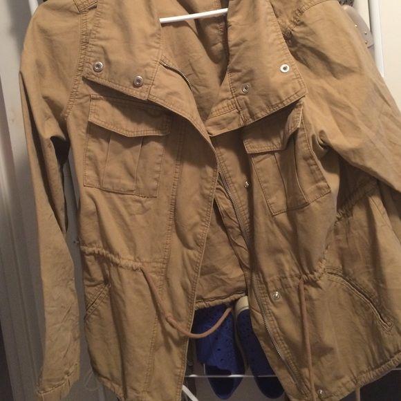 Tan utility jacket Tan utility jacket Old Navy Jackets & Coats