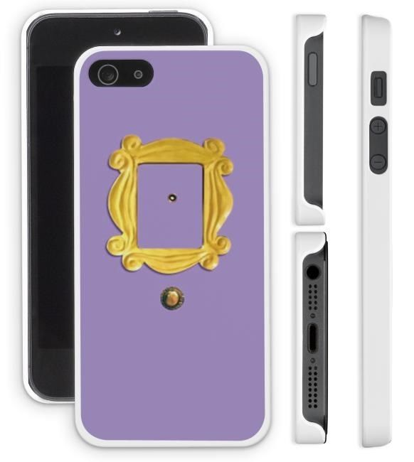 New FRIENDS Peephole Frame Apple iPhone 4/4s 5/5s Cell Phone Case Cover TV Show