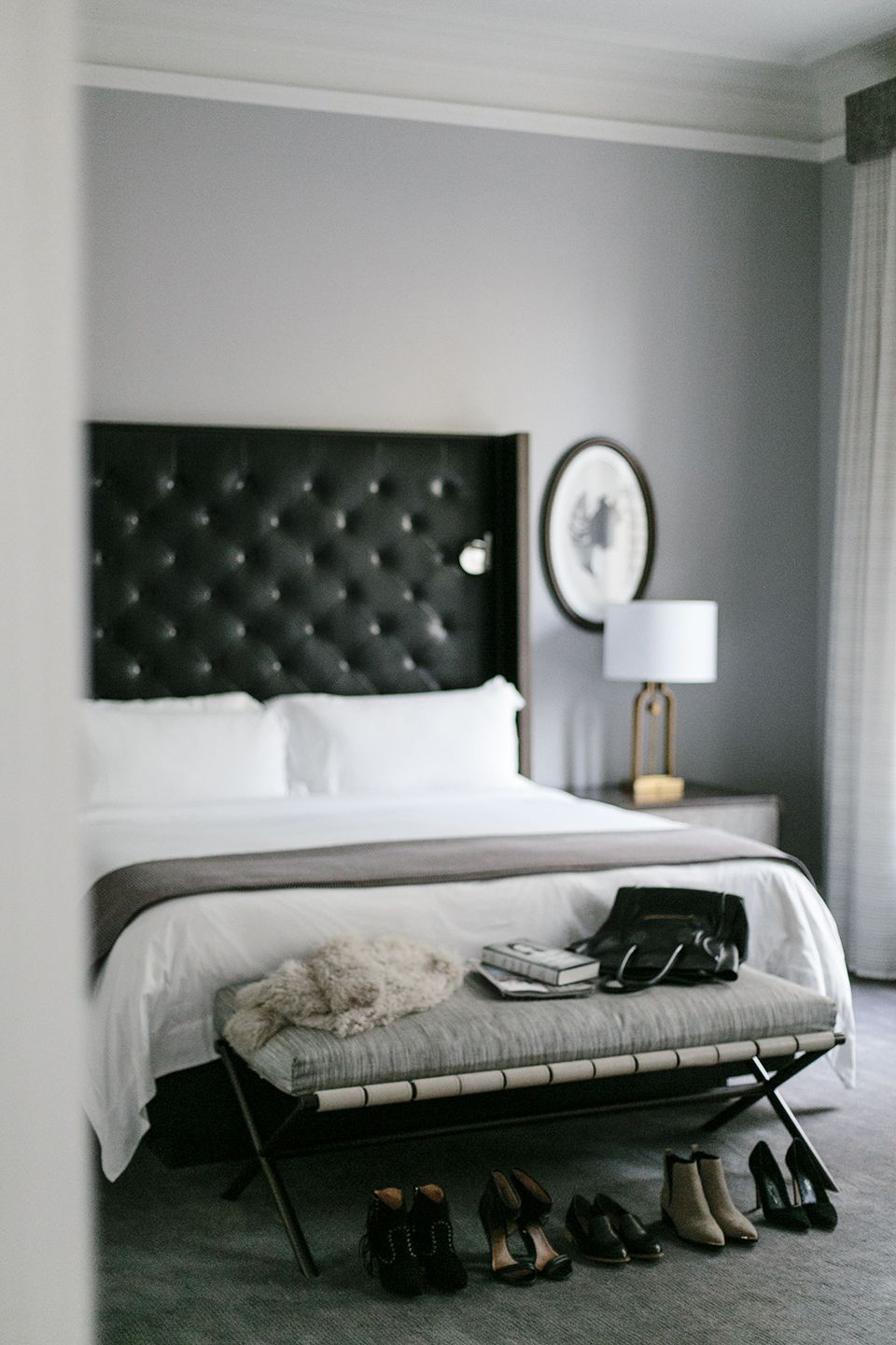 Black Headboard Black Headboard Master Bedroom Redo