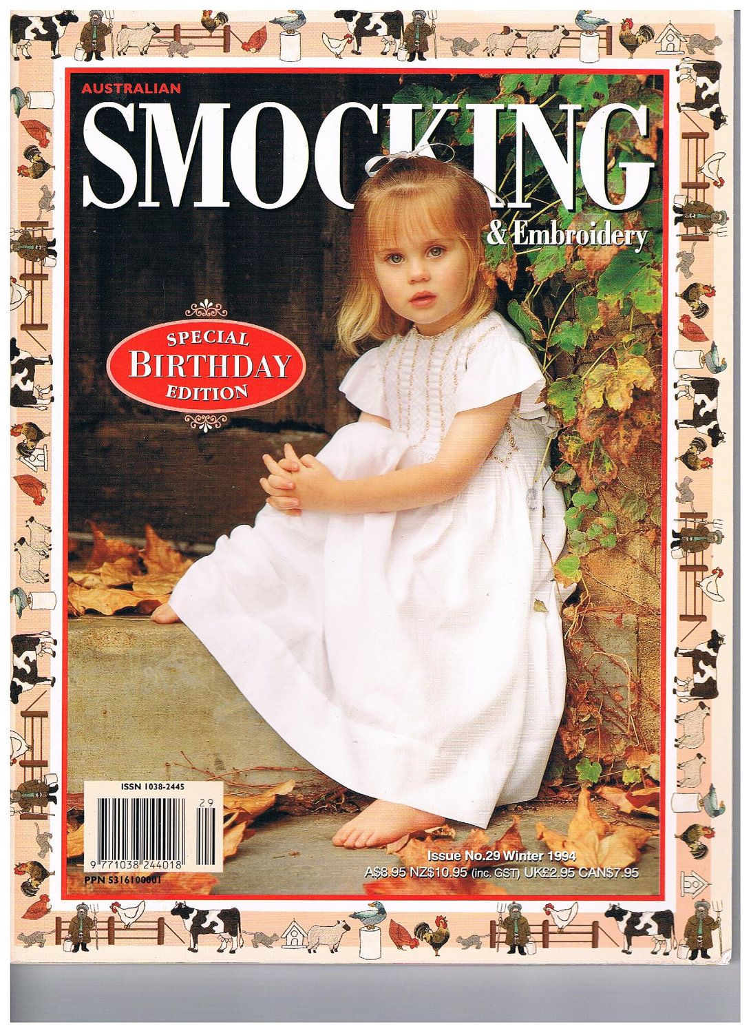 Australian Smocking and Embroidery Issue 29 by SparrowFinds