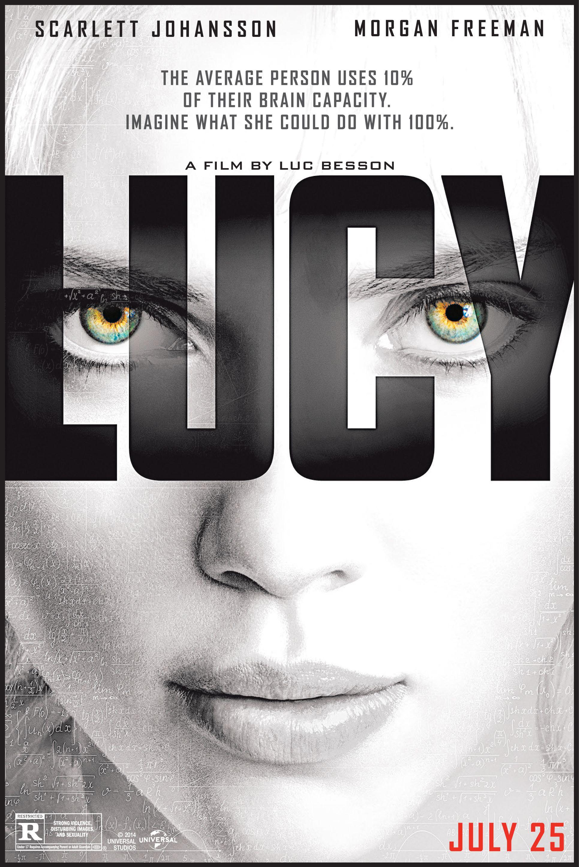 Lucy (2014.) | Morgan freeman, Luc besson