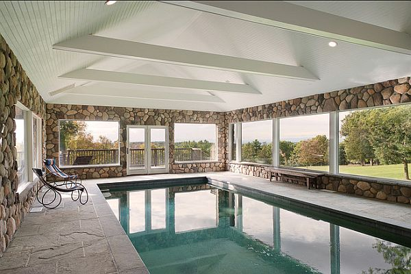 Awesome Three Beautiful Homes With Indoor Pools Home Design Ideas