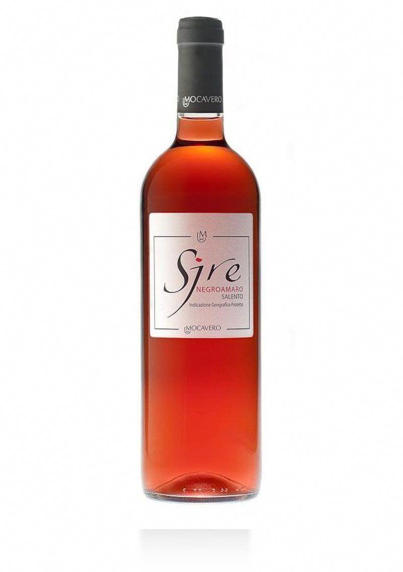 Sire Negroamaro Rosato Salento Igp Mocavero Salentowineshop Vino Rosado Vino Italiano Vinos
