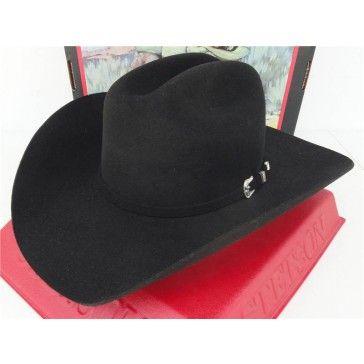 5400a445 Stetson Cowboy Hat Premium Wool Black Oak Ridge | Cowboy Hats | Hats ...