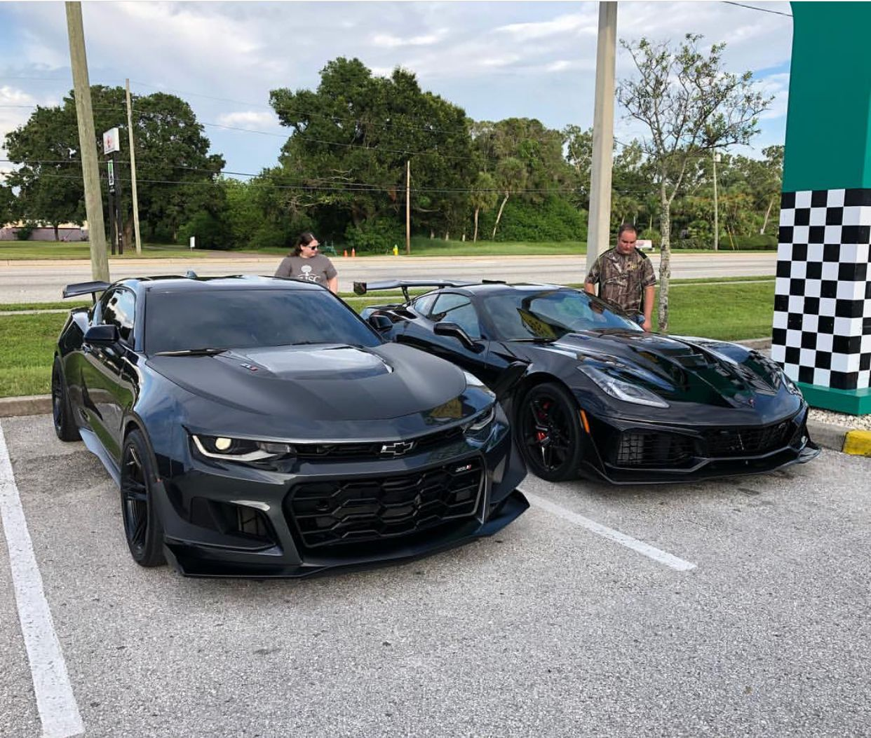 Chevrolet Camaro Zl1 1le Painted In Nightfall Gray Metallic Next