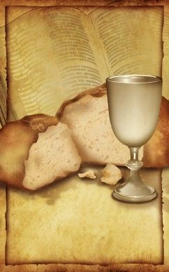 Bread and Cup Communion Bulletin Cover | Holy Communion