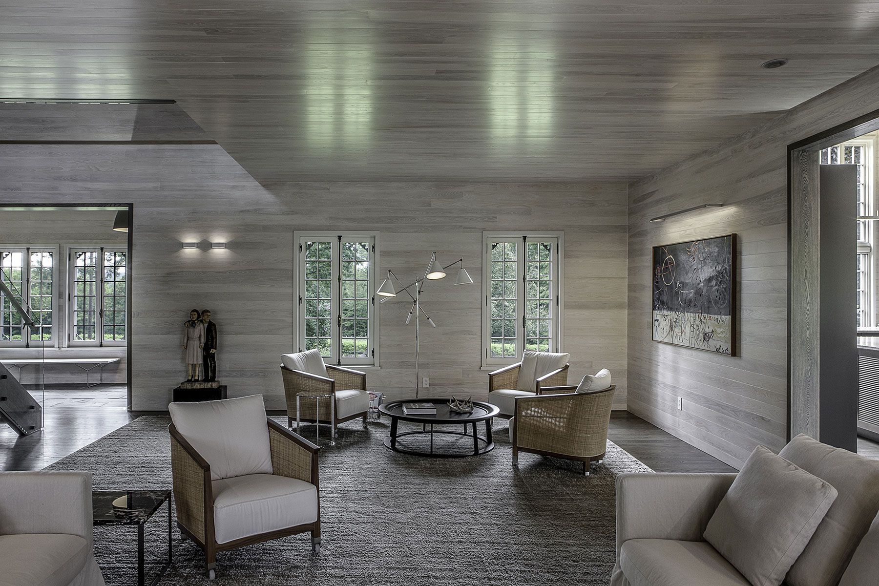 Db projet le chic au naturel living rooms