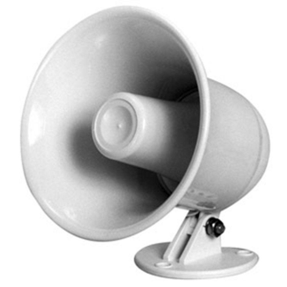 Speco SPC-5P 5 Weatherproof PA Speaker w/Plastic Base - 8 ohm