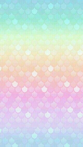 Cola de sirena colorida Mermaid wallpapers, Rainbow