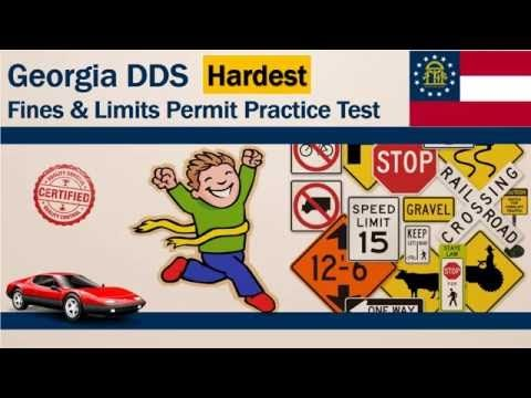 Georgia Dds Fines And Limits Permit Practice Test Hardest