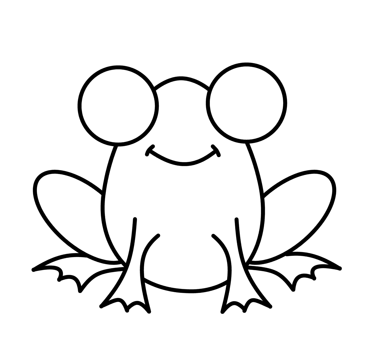 How To Draw Cartoons Frog 1st Grade Art Drawings For