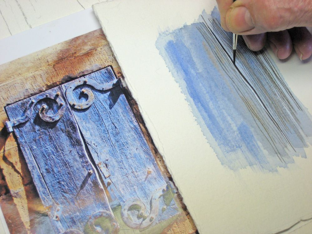 Watercolour Tutorial Shutters Watercolour Tutorials