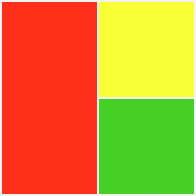 Color Trio Red Yellow Green Color Mixing Green And Purple Red Green Yellow