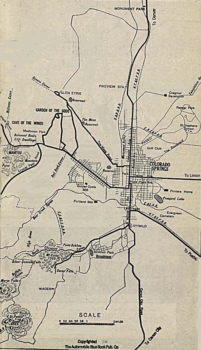 Colorado Springs 1920 Colorado In 2019 Pinterest Colorado