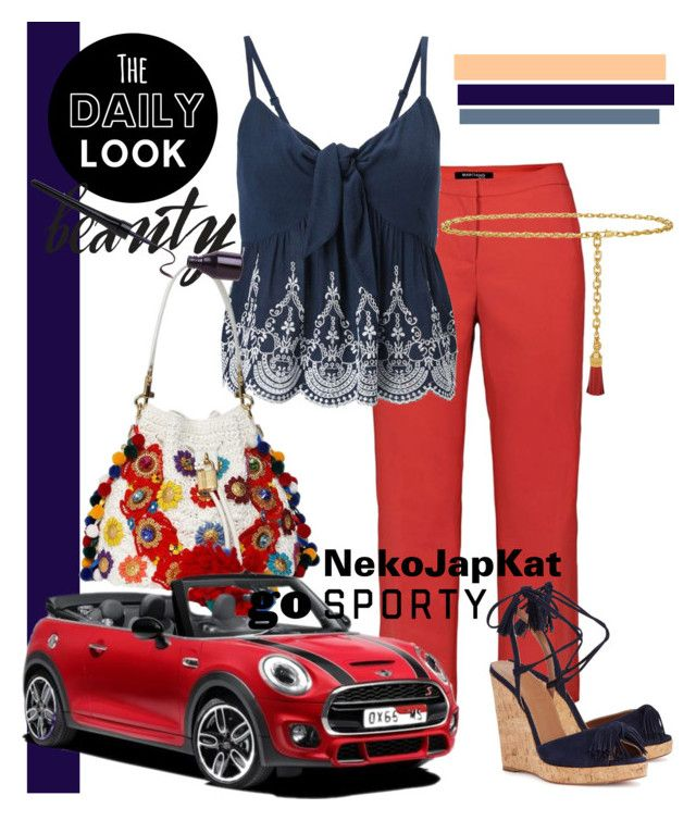 """NekoJapKat"" by neko-m-tucker-smith ❤ liked on Polyvore featuring Marciano, Miss Selfridge, Dolce&Gabbana, Tory Burch and Aquazzura"