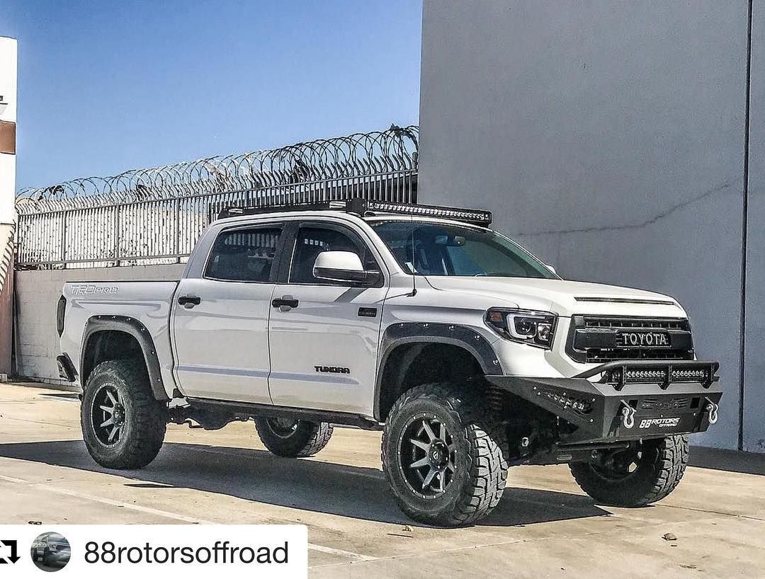 Repost 88rotorsoffroad Get Repost Thinking About Selling This Any Takers Supercharged Trd Pro Still U Toyota Tundra Tundra Crewmax Toyota Tundra Lifted