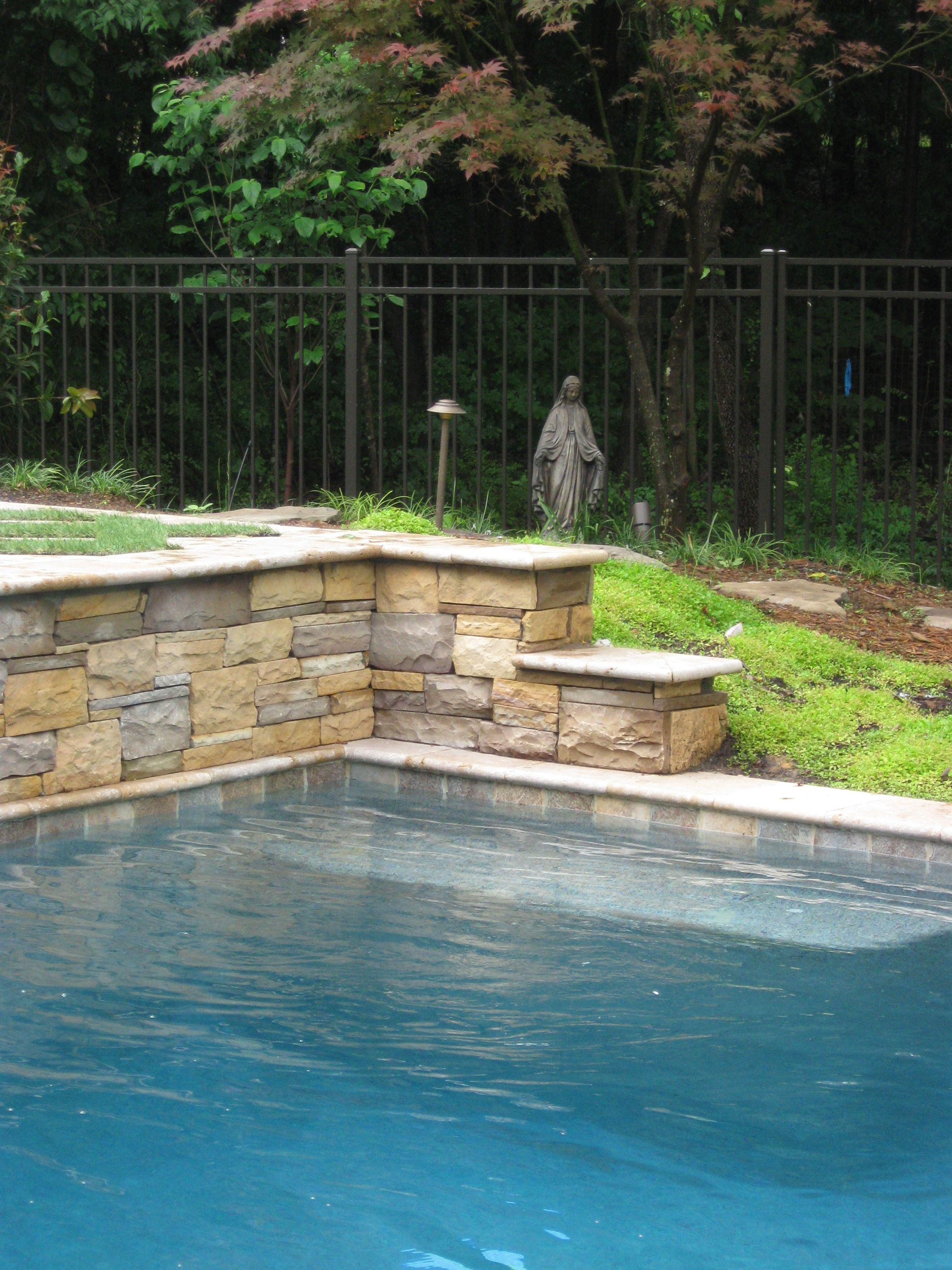example of blue granite pebble sheen pool party pinterest
