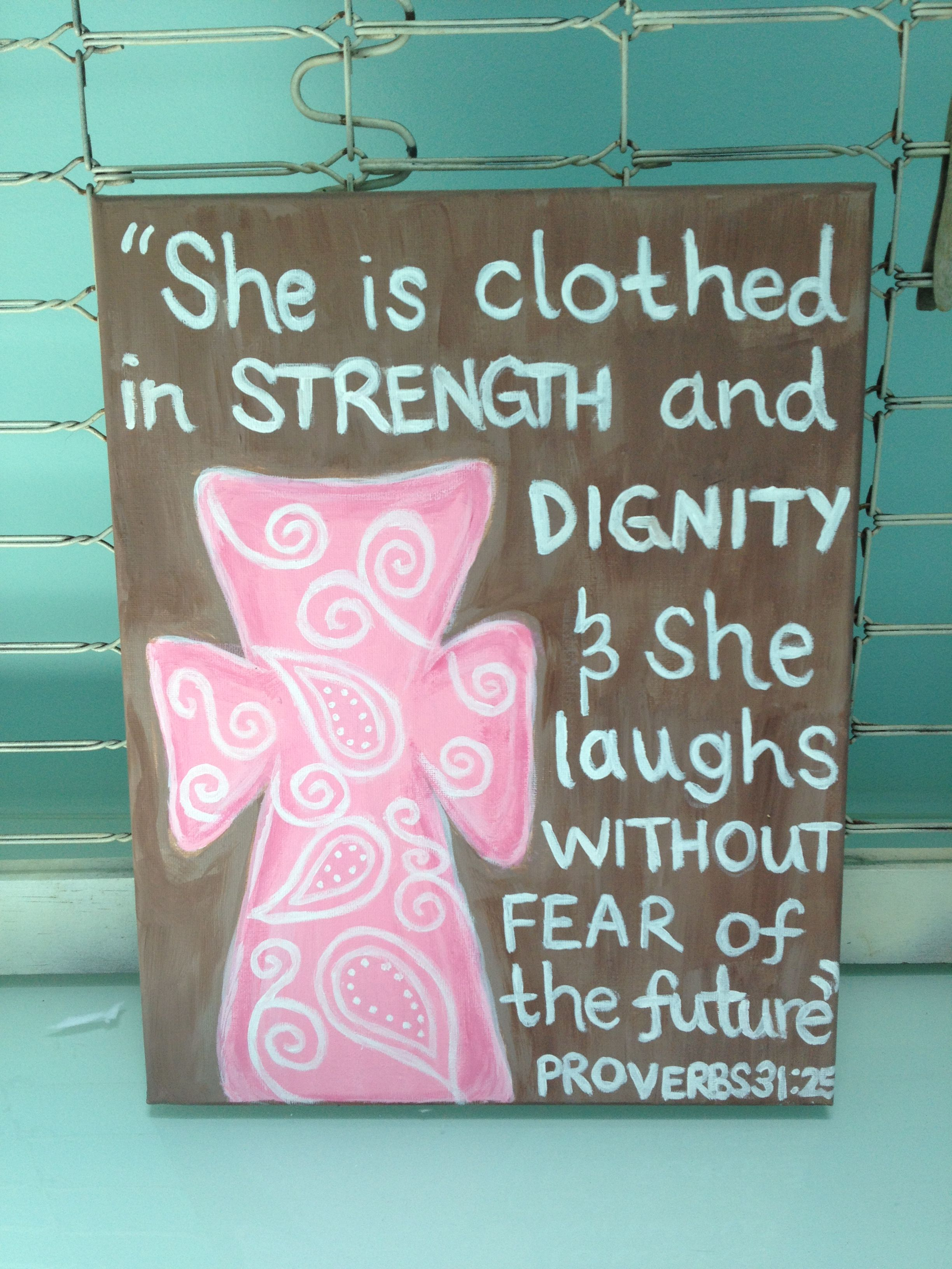 Proverbs 3125 Bible Verse Canvas Love This For My Baby Girls Room