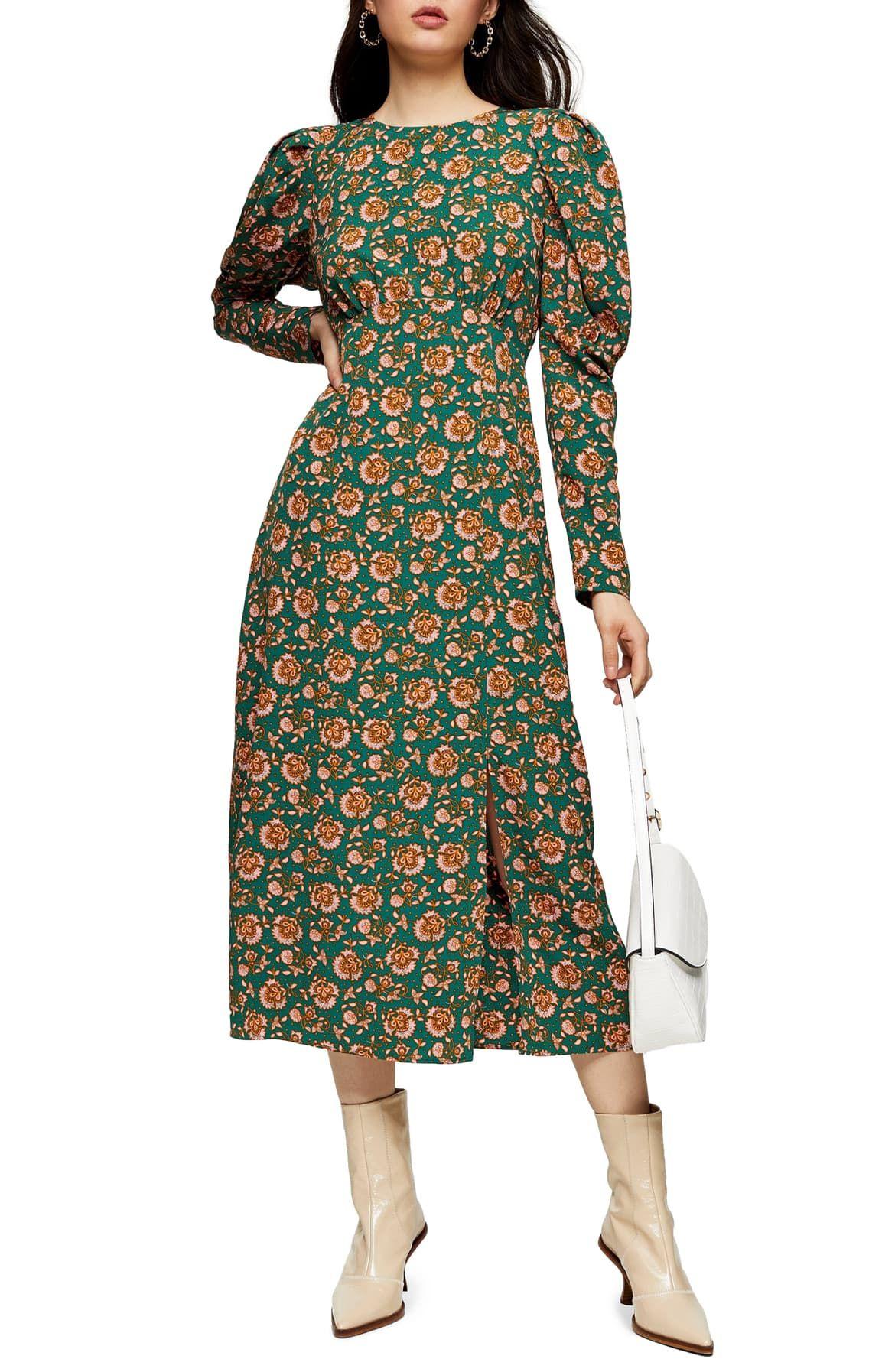 Park Art My WordPress Blog_Puff Sleeve Midi Dress Formal