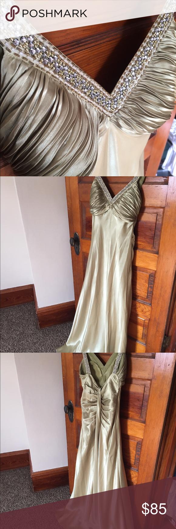 Olive green prom dress dress prom and prom