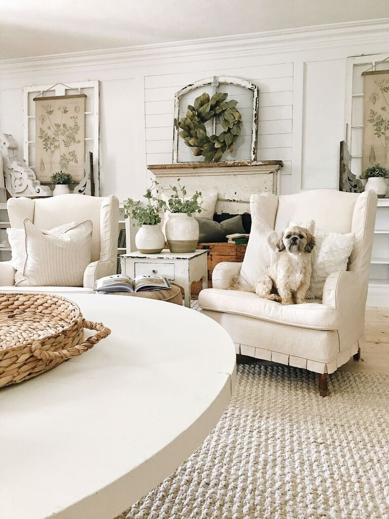A Diy Weekend Re Cap Farm House Living Room Country Living