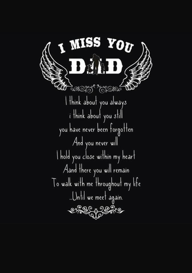 I miss you Dad | Hi Dad | Pinterest | Dads, Grief and Poem I Miss You Daddy Quotes