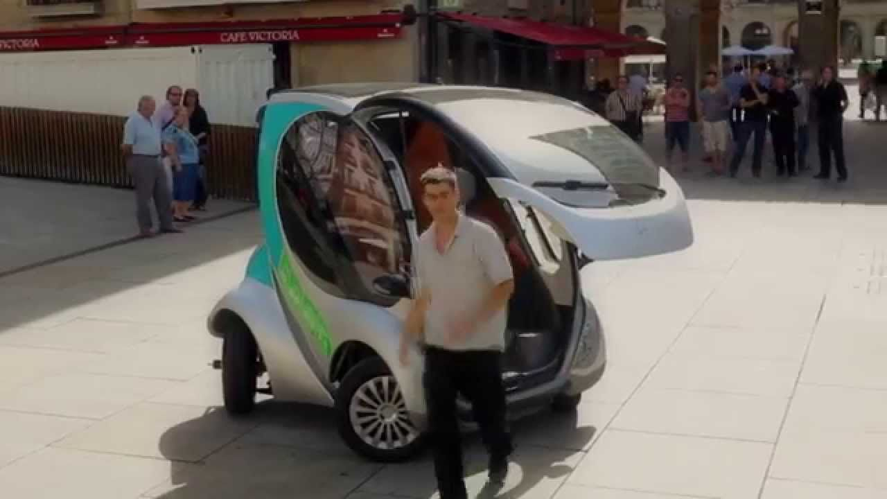 Hiriko Folding Electric Car Full Demo Car Future Car