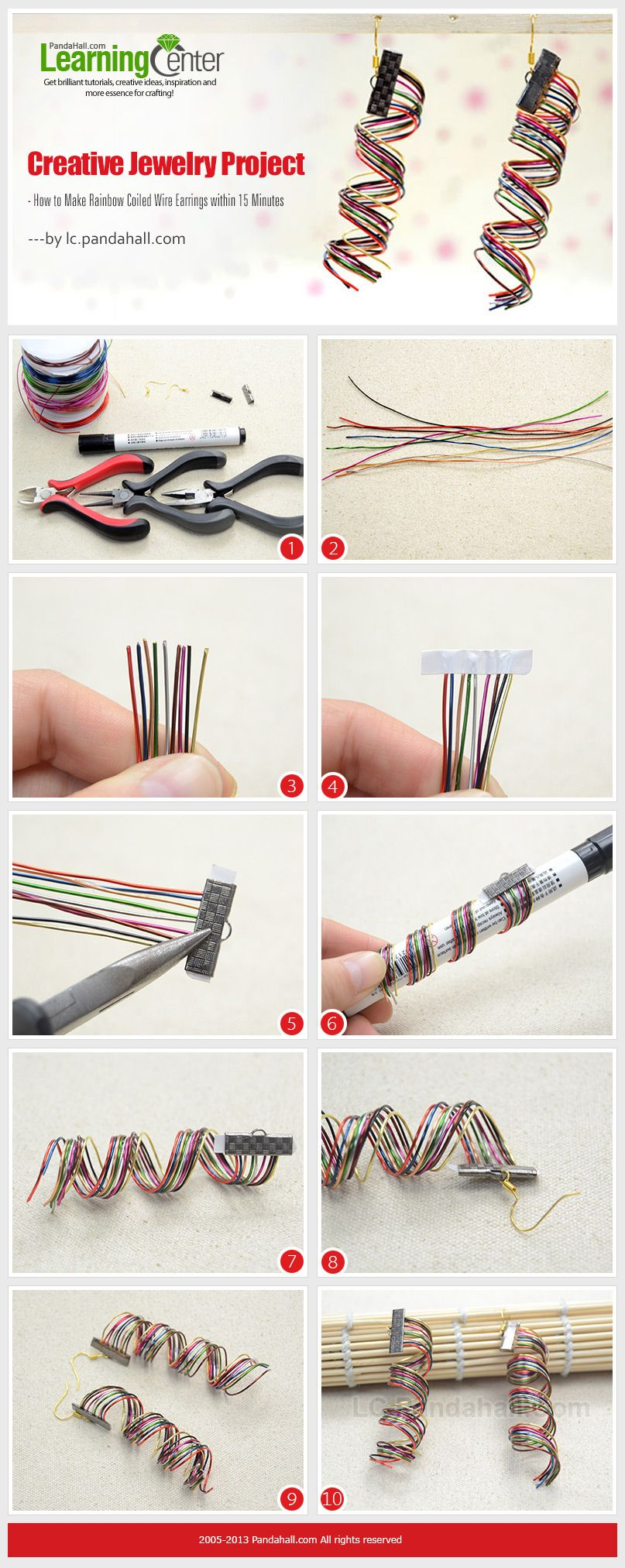 how to make coiled wire straight