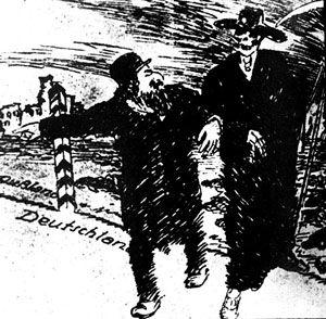 Jews bring Death into Germany