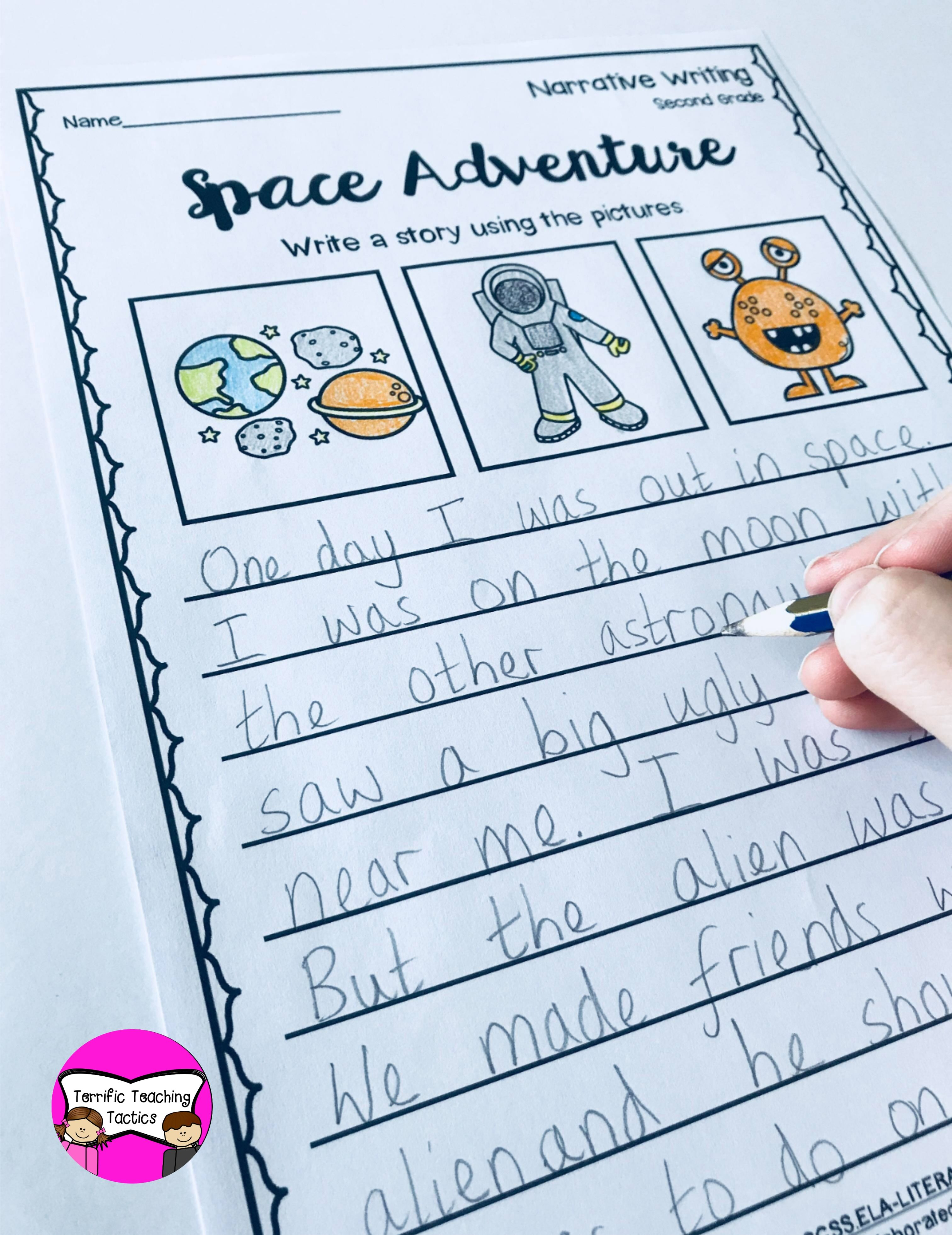 Narrative Writing Prompts Worksheets For 2nd Grade Writing Worksheets Narrative Writing Teaching Narrative Writing [ 3923 x 3024 Pixel ]