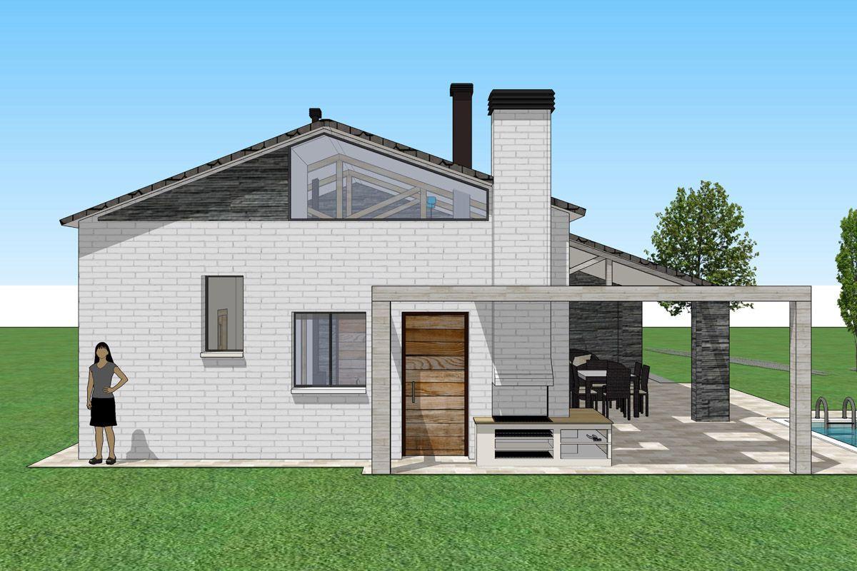 Ideas de exterior jardin porche estilo contemporaneo for Decoracion exterior jardin contemporaneo