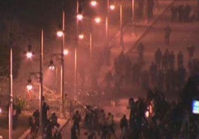 الداخلية المصرية : مجموعة غاضبة خرجت عن سلمية المظاهرات وأجبرتنا على استخدام الغاز