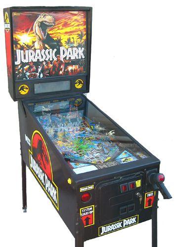 jurassic park pinball machine thomas jurassic park