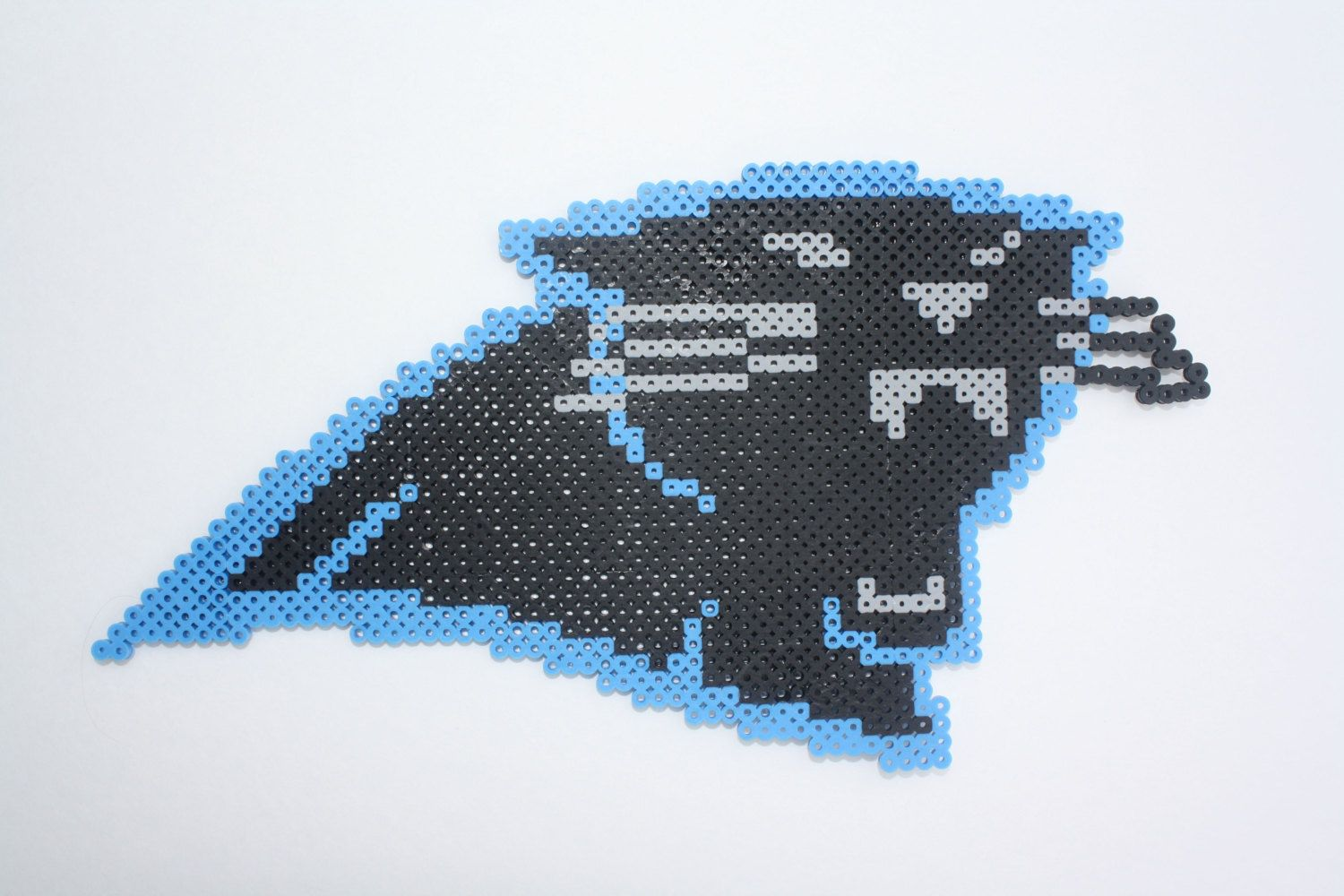 Panthers Perler Sprite by GeekstersParadise on Etsy   sports beaded ...