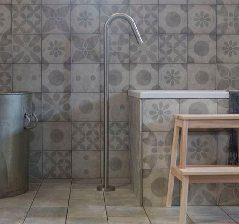 Badkamer met vtwonen tegels | Badkamer | Pinterest